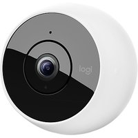 Logitech Circle 2 Indoor & Outdoor Wireless Security Camera, White