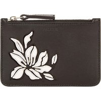 Jaeger Florence Leather Coin Purse, Black