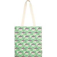 Fenella Smith Zebra and Palm Tree Canvas Tote Bag