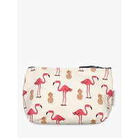 Fenella Smith Flamingo and Pineapple Make-up Bag, Small