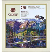Wentworth Wooden Puzzles Yosemite Falls Jigsaw Puzzle, 250 pieces