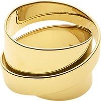 Dyrberg/Kern Louie Sculpture Cocktail Ring, Gold