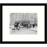 Getty Images Gallery - Huntsmen In Town 1926 Framed Print, 57 x 49cm