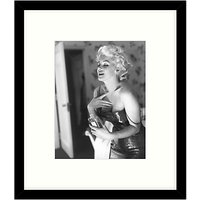 Getty Images Gallery - Marilyn Getting Ready 1955 Framed Print, 57 x 49cm