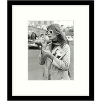Getty Images Gallery - Francoise Hardy 1966 Framed Print, 49 x 57cm