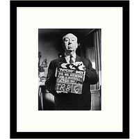 Getty Images Gallery - On The Set Of Psycho 1960 Framed Print, 49 x 57cm