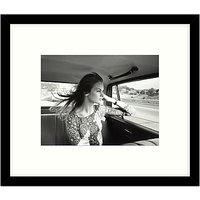 Getty Images Gallery - Jean Shrimpton 1966 Framed Print, 57 x 49cm