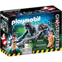 Playmobil Ghostbusters Venkman Terror Dogs Play Set