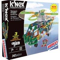 KNex Transport Chopper Building Set