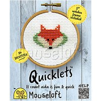 Mouseloft Quicklets Fox Counted Cross Stitch Kit