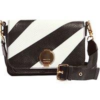 Karen Millen Leather Disc Shoulder Bag