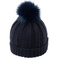 French Connection Pom Pom Beanie Hat, One Size