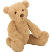 Jellycat Butterscotch Bear Soft Toy, Medium