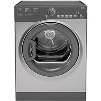 Hotpoint TVFS83BGG.9 Vented Tumble Dryer, 8kg Load, C Energy Rating, Grey Graphite