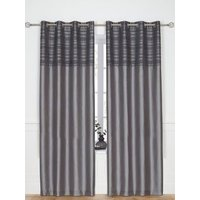 Chantilly Eyelet Curtains 165x182cm