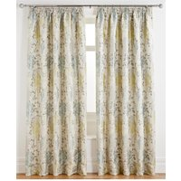 Elegant Twist Jacquard Pleated Curtains 229 x  182 cm