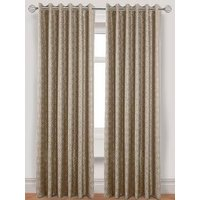 Laurence Llewelyn-Bowen Gloriental Lined Eyelet Curtains 229x137cm
