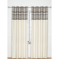 Chantilly Eyelet Curtains 116x182cm
