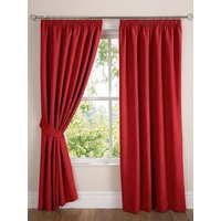 Faux Suede Pencil Pleat Lined Curtains 229x274cm