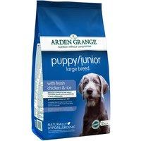Arden Grange Large Breed Puppy/Junior - Chicken & Rice - Economy Pack: 2 x 12kg