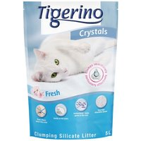 Tigerino Crystals Fresh Clumping Cat Litter - 5 litre