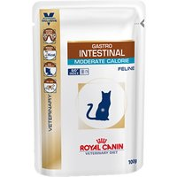 Royal Canin Veterinary Diet Cat Intestinal Moderate Calorie - 12 x 100g