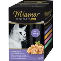Miamor Fine Fillets Mini Pouch Multipacks 8 x 50g - Mixed pack 2