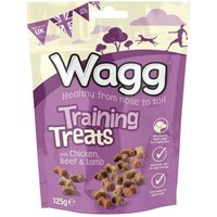 Wagg Training Treats - Saver Pack: 3 x 125g