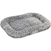 Oekobed Dog Pillow in plush Leopard print - Size XL: 140 x 105 x 17 cm (L x W x H)