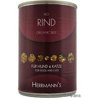 Herrmanns Organic Meat 6 x 400g - Organic Beef
