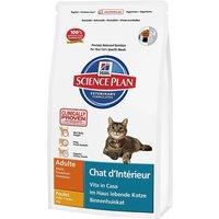 Hills Science Plan Adult Indoor Cat - Chicken - Economy Pack: 2 x 4kg