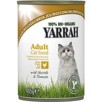 Yarrah Organic Chunks 6 x 405g - Chicken with Nettle & Tomato in Sauce