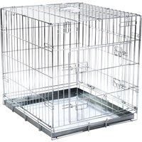 Double Door Transport Cage - Size XL: 109 x 69 x 75 cm (L x W x H)
