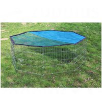 Octagonal Run with Sun Protection - 8 Sided - 8 Elements, each 57 x 56 cm