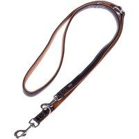 Hunter Canadian Dog Lead - Black/ Cognac - 200cm