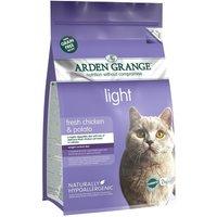 Arden Grange Light Chicken & Potato - Adult Cat - Economy Pack: 2 x 4kg