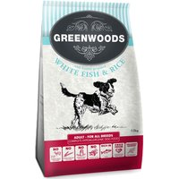 Greenwoods Adult Fish & Rice - 12kg