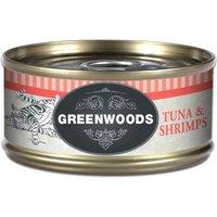Greenwoods Adult Tuna & Shrimps - 6 x 70g