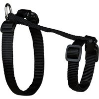 Trixie XL Cat Harness with Lead - Black