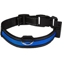 Eyenimal Light Collar USB - Blue - Size M: 44 - 56cm neck circumference