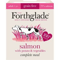 Forthglade Complete Meal Grain-Free Adult Dog - Salmon - 18 x 395g