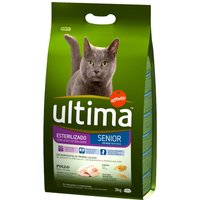 Ultima Sterilised Senior Chicken - Economy Pack: 2 x 3kg