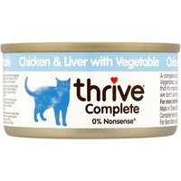 thrive Complete Adult - Chicken & Liver - 6 x 75g