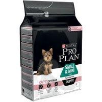 Pro Plan Puppy Small & Mini Sensitive OptiDerma - Salmon - Economy Pack: 2 x 3kg