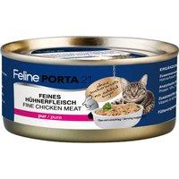 Feline Porta 21 Saver Pack 24 x 156g - Pure Chicken