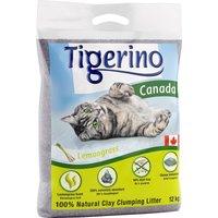 Tigerino Canada Cat Litter Lemongrass Scented - Economy Pack: 2 x 12kg