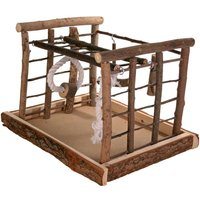Trixie Natural Living Playground for Parakeets - Dimensions: 35 x 29 x 25 cm (L x W x H)