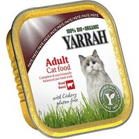 Yarrah Organic Tray Saver Pack 12 x 100g - Chunks: Beef with Parsley & Thyme