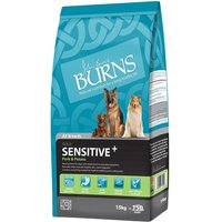Burns Adult Sensitive+ - Pork & Potato - 15kg