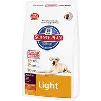 Hills Science Plan Adult Light Large Breed - Chicken - Economy Pack: 2 x 12kg